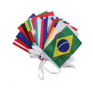 82ft Lenght (0.46ft x 0.69ft) Rectangle All countries String Flag