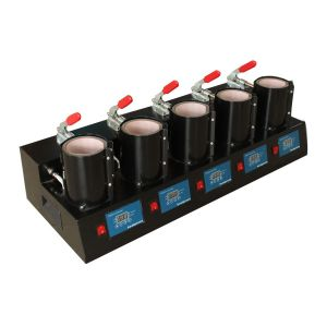 Upgrade High Efficient 5 Digital Cup Mug Heat Press Machine