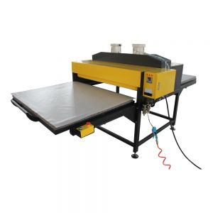 "39"" x 47"" Pneumatic Double Working Table Large Format Heat Press Machine with Pull-out Style, 220V 3P"