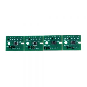 Permanent Roland RA-640 Aqueous FPG Chips - 4pcs / set CMYK