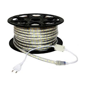 AC220V High Voltage Waterproof LED Strip Rope Lights with 60 LEDs/m SMD 5050, 100m(328ft)/roll/pack
