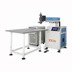 300W YAG Laser Welding Machine for Metal Channel Letter Making, Z Axis Height Fixed