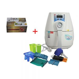 Mini 3D Vaccum Heat Press Transfer Machine Special for Phone Cases, Mugs and Plates with One Gift Sample Package