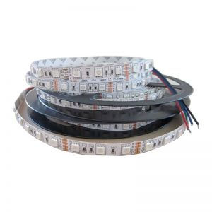 16.4FT 5M Non-waterproof 300 LED Strip Light 5050 SMD RGB String Ribbon Tape Roll 12V