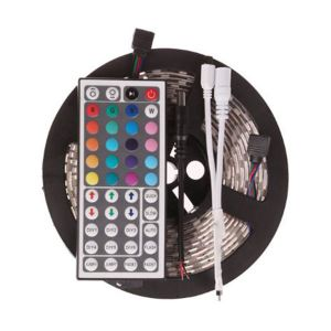 3528 Non-Waterproof RGB Colourful Strip + 44 Key Remote Control