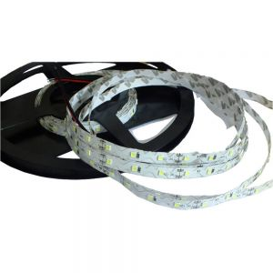 High Brightness 16.4FT 2835 Flexible LED Strip Bendable S Type 5M SMD 300 White Light NP 12V for Resin Letter