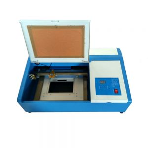 Desktop 40W 300mm x 200mm Mini CO2 Laser Engraving Cutting Machine with Up and Down Table