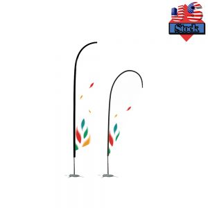 US Stock-10FT Pole With Spike Base Flag Banner Stand(only Pole)