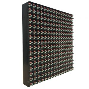 "High-definition Outdoor Led Display P10 16x16 RGB DIP Plain Color Inside P10 Medium 16x16 RGB LED Matrix Panel(6.3"" x 6.3"" x 0.5"")"