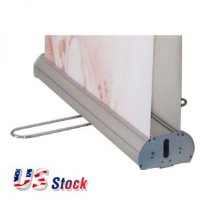 "Clearance Sale! US Stock-Economy Double Sided Roll Up Banner Stand (33"" W x 79"" H) (Stand Only)"