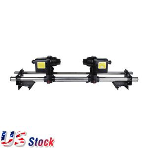 "US Stock-54"" Automatic Media Take up Reel SD54 Two Motors for Mutoh/ Mimaki/ Roland/ Epson Printer"