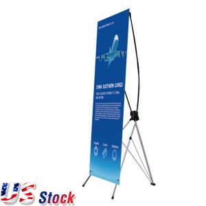 "Clearance Sale! US Stock- Economy Aluminum Foot X Banner Stand (31.5""x71"")"
