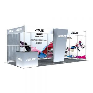 20FT x 10FT Open-Style Combined Exhibition Display System (Second styles)