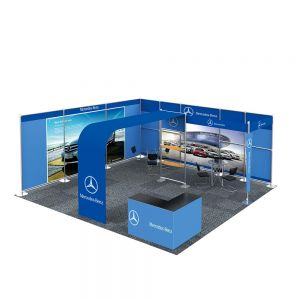 20FT x 20FT Luxury Style Trade Show Display System