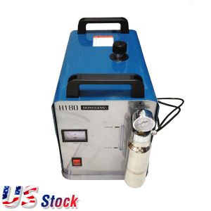 US Stock, Ving 300W 95L Portable Acrylic Polishing Machine, Oxygen Hydrogen Flame Generator 2 Gas Torches free, 110V