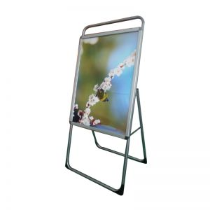 New Single Sided Freestanding 60x90cm A Frame Whiteboard Poster Stand Street Sign Display Board (Without Graphic Printing)