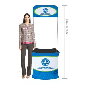 Fan-shaped Fabric Tension Promotion Counter