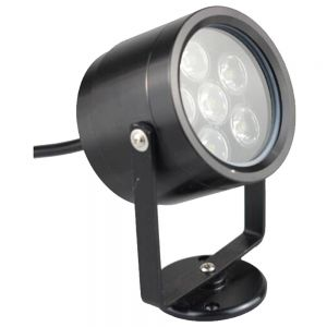 85-265VAC 6x1W Underwater Lamp Black
