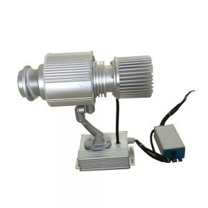 Outdoor IP65 Waterproof 40W LED Rotating Gobo Advertising Logo Projector Light