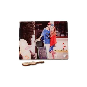 "7.0"" x 9.0"" Glossy Square Sublimation Blank Glass Photo Frame"