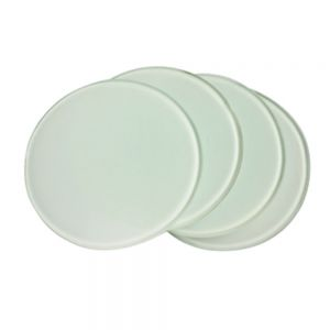 "Diameter 3.9"" Round Sublimation Blank Glass Coaster"