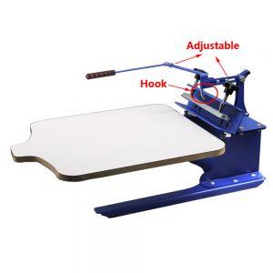 1 station silk screen printing machine diy t shirt press for Single shirt screen printing