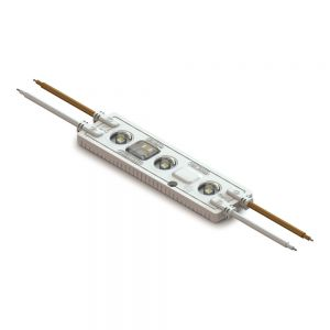 High Voltage SMD 2836 IP67 Waterproof LED Module, AC220V (3 LEDs, 2.5W, L110 x W28 x H8.5mm White Light)