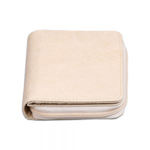 New Blank Sublimation Leather Fashion Bifold Lady Clutch Wallet with Zip