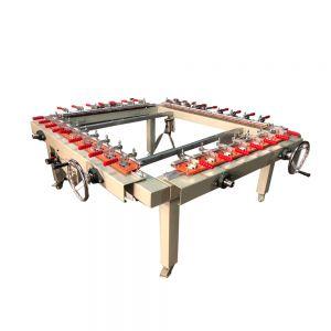 "US Stock, High Precise 59""x 67"" Pneumatic Screen Stretcher, Screen Printing Equipment"