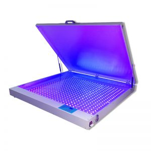 "Big Desktop 41.3""x 49.2"" 240W LED UV Exposure Unit Screen Printing Exposure Machine"