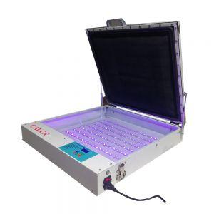"""Qomolangma Tabletop Precise 20"""" x 24"""" 80W Vacuum LED UV Exposure Unit"""