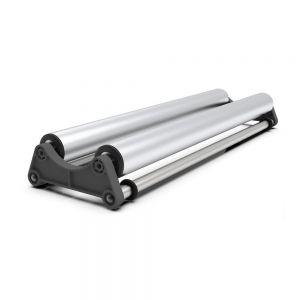 US Stock Media Roll Holder Mobile Tray for Roll Printing Film Advertising