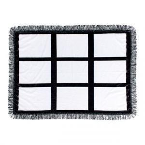 "30"" x 40"" Sublimation Blank 9 Panel Photo Throw Blanket 4PCS"