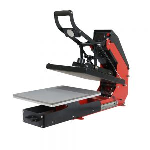 Auto Open T-shirt Heat Press with Slide-out Press Bed