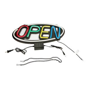 OPEN Business Sign Neon Light Type 1 Ultra Bright LED Store Shop Advertising Lamp