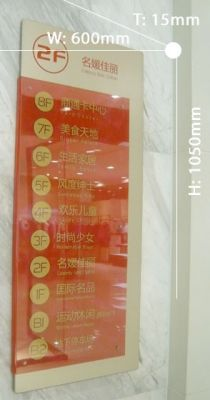 Directional signboard 034