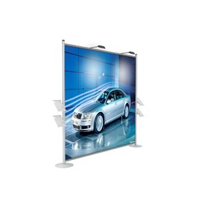 "Display Booth Stand 98.4""×98.4""×15.0"" (2500×2500×380mm)"
