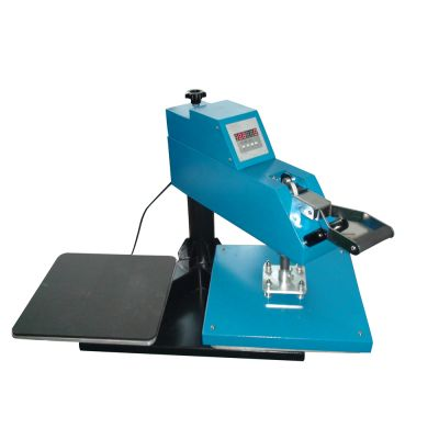 "15"" x 15"" Manual Swing-Away T-shirt Heat Press Machine with Double Working Tables"