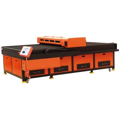 "51"" x 98"" (1300mm x 2500mm) Flatbed Laser Cutter Machine-Step Motor"