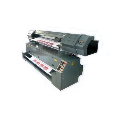 Direct Dye Sublimation Digital Inkjet Textile Printer and Heater-2000 (1800mm Flag Making Machine)