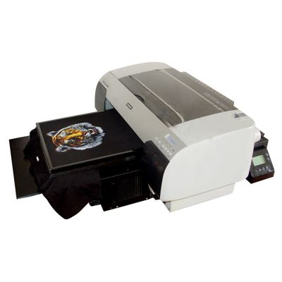 "15"" x 18.9"" A2 Size Calca DFP4880 DTG High Speed T-shirt Flatbed Printer with Rip Software"