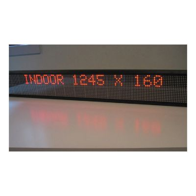 "25"" x 5"" Indoor 2 Lines LED Scrolling Sign(Tricolor or Single Color)"