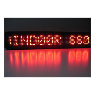 "20"" x 4"" Semi Outdoor 1 Line LED Scrolling Sign(single color )"