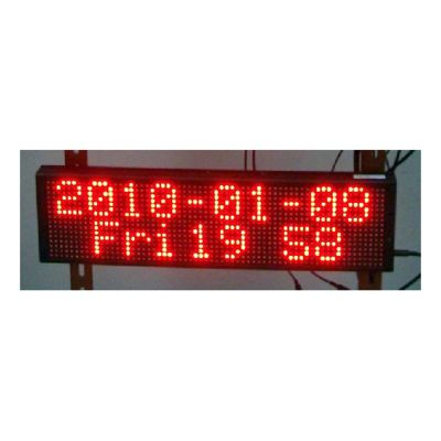 "30"" x 6"" Semi Outdoor 2 Lines LED Scrolling Sign(Tricolor or Single Color)"
