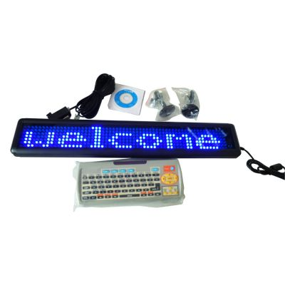 "30"" x 4"" Semi Outdoor 1 Line LED Scrolling Sign(single color )"