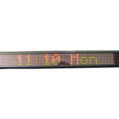 "20"" x 4"" Indoor 1 Line LED Scrolling Sign(Tricolor )"