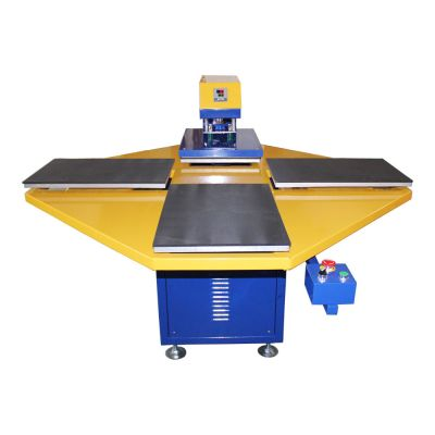 "15"" x 15"" Pneumatic T-shirt Heat Press Machine with Four Stations"