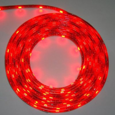 Red Color LED Light Strip(30 SMD 5050 leds per meter nonwaterproof) 5m/roll