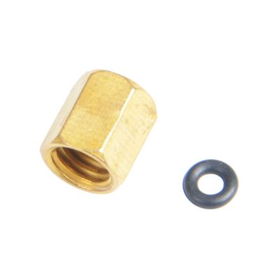 Sample-Copper Screw with O-ring for Small Damper Ink Piping