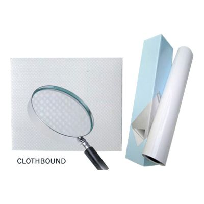 "25"" (0.635m) Matte Cloth Bound Cold Laminating Film"